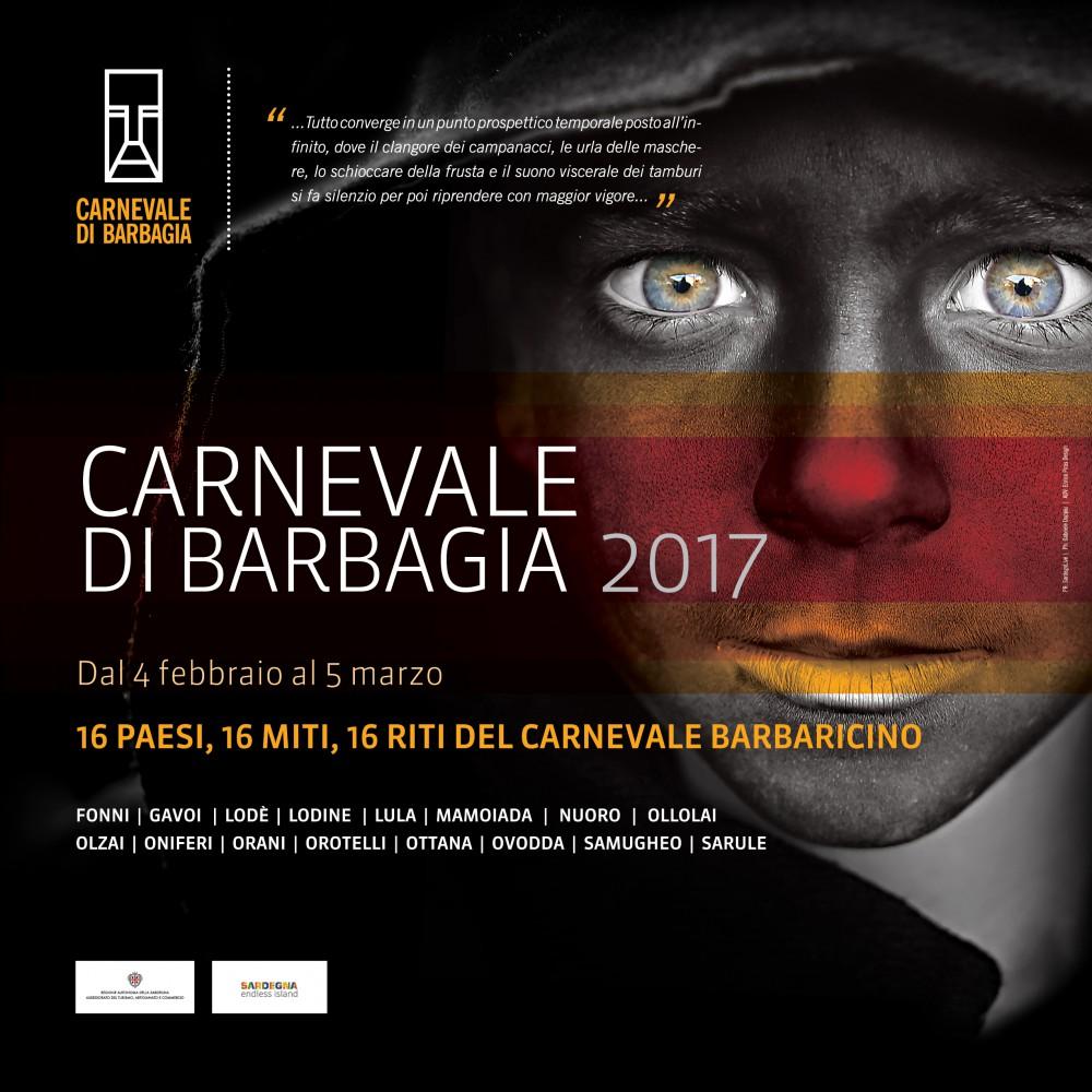 Carnevale di Barbagia 2017